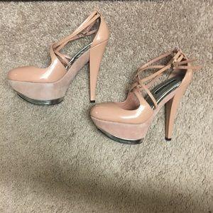 Adrienne Maloof Imogen Pink Heels